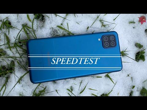 Samsung Galaxy A12 SPEED TEST