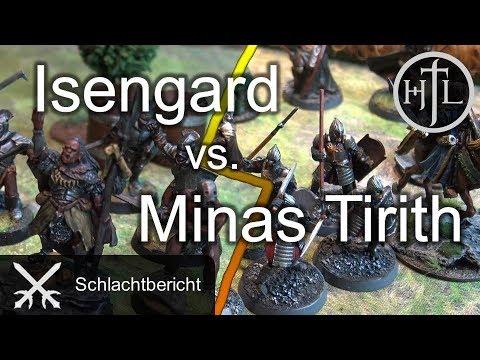 Battlereport - Minas Tirith vs. Isengard (Mittelerde Tabletop / Hobbit / Herr der Ringe / HdR)