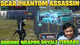 SPIN SCAR ASSASSIN ABISIN DIAMOND! AKURASI GG DAMAGE SAKIT! - Garena Free Fire