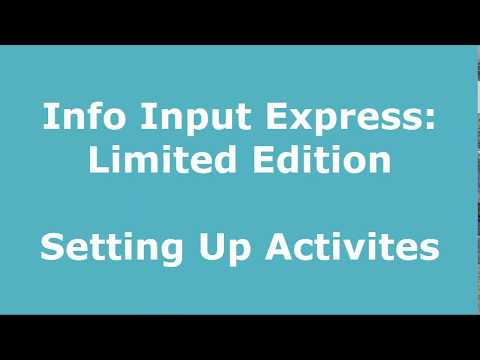 Setting Up Index Items and Doc Types l Info Input Express Preview