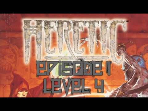 Heretic (1994) - PC - Episode 1 Level 4