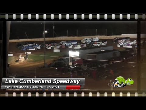 Lake Cumberland Speedway - Pro Late Model Feature- 9/6/2021 - dirt track racing video image