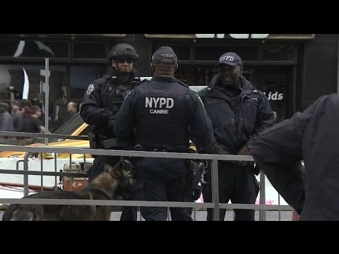 New York City Police Department spends $7mln on new military style gear