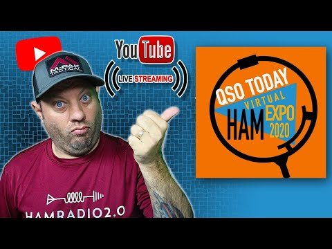 QSO Today Virtual Ham Expo Interview and Livestream | Online Virtual Hamfest!