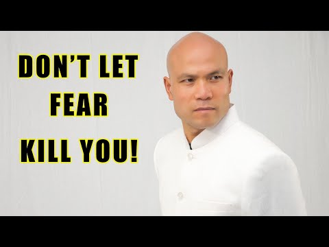 Don't let fear kill you dream | Master Wong