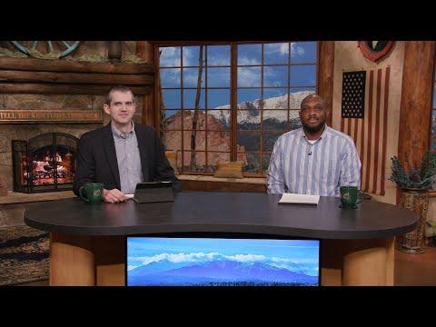 Charis Daily Live Bible Study: No Longer I - Ricky Burge - February 12, 2021