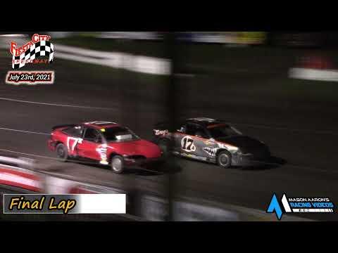 Fiesta City Speedway WISSOTA Hornet A-Main (7/23/21) - dirt track racing video image