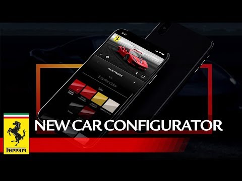 Create your own Ferrari with the new car configurator