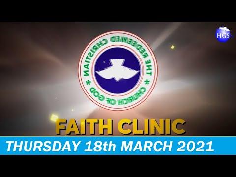 RCCG MARCH 18th 2021 FAITH CLINIC