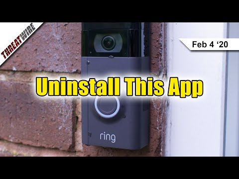 Ring Android App Shares Data With Facebook  - ThreatWire