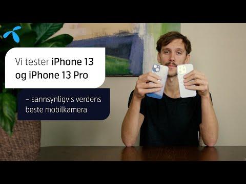 Test: iPhone 13 og 13 Pro – sannsynligvis verdens beste mobilkamera