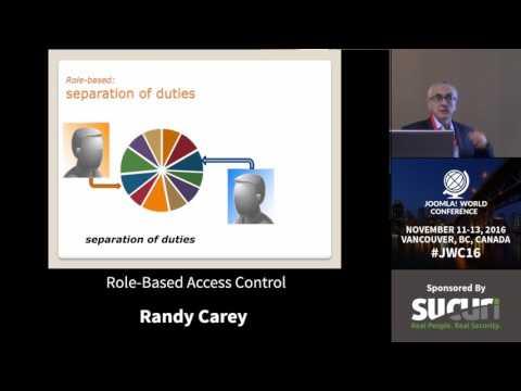 JWC 2016 - Role-Based Access Control - Randy Carey
