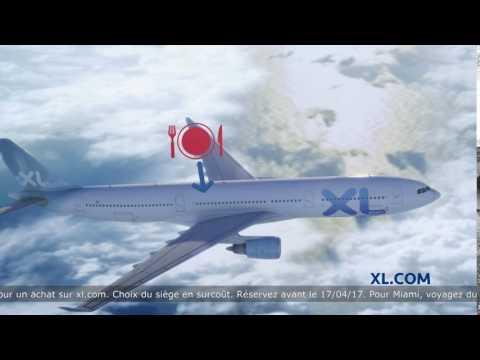 Publicité XL Airways - Paris - Miami à partir de 439 € A/R