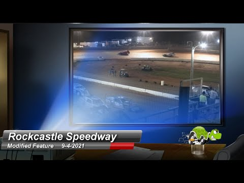 Rockcastle Speedway - Modified Feature - 9/4/2021 - dirt track racing video image