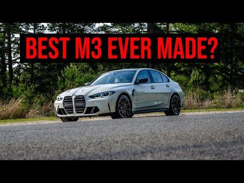 2021 BMW M3 Manual Transmission | Best Ever M3? | 4K