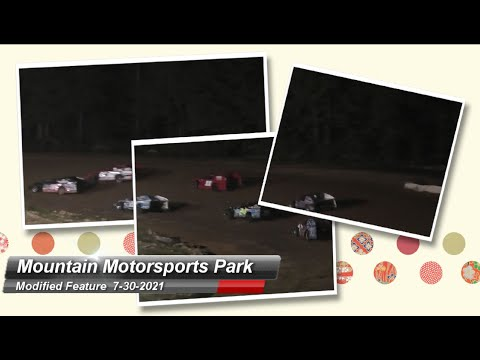 Mountain Motorsports Park - Modified Feature - 7/30/2021 - dirt track racing video image