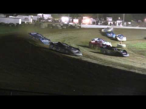 9 17 16 Super Late Model Feature Brownstown Speedway - dirt track racing video image