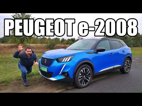 Peugeot e-2008 - elektryczny crossover (PL) - test i jazda próbna