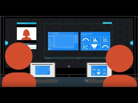 Prysm use case: Virtual Team Room