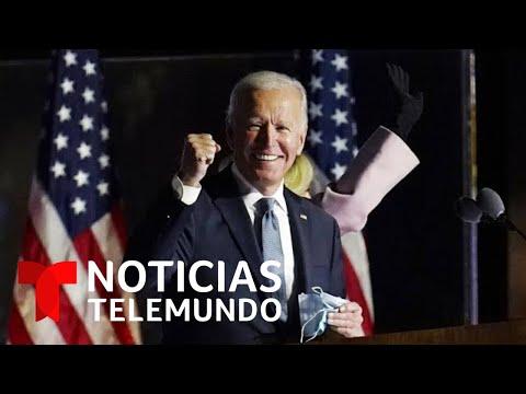 Joe Biden es el ganador de Nevada según proyecciones de Noticias Telemundo