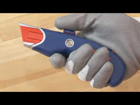 Uline Comfort-Grip Auto-Retractable Safety Knife