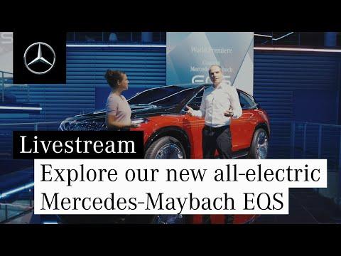 Entdeckt unseren neuen vollelektrischen Concept Mercedes-Maybach EQS.