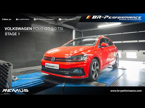 VW Polo GTI 2.0 TSi / Stage 1 By BR-Performance / REMUS exhaust