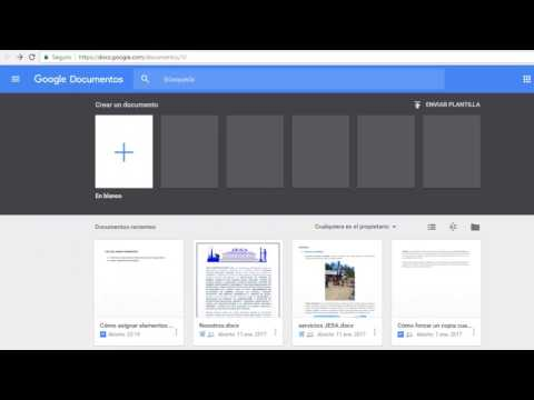 Cómo asignar elementos de acción en Documentos de Google, Hojas de cálculo y Presentaciones