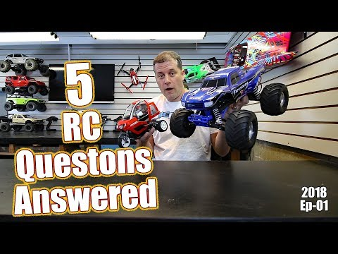 RC Driver Question & Answer Show - B64 Basher, Motor Oil & More - Episode 1 (2018)