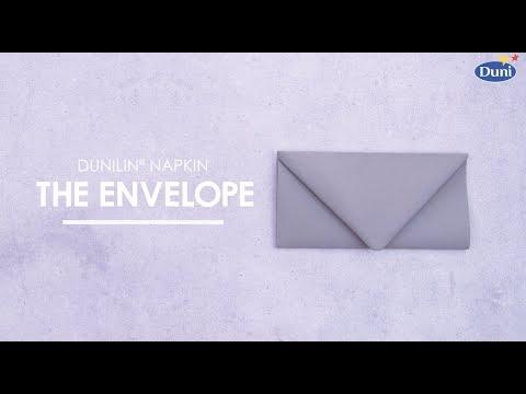 Napkin Folding - Envelope