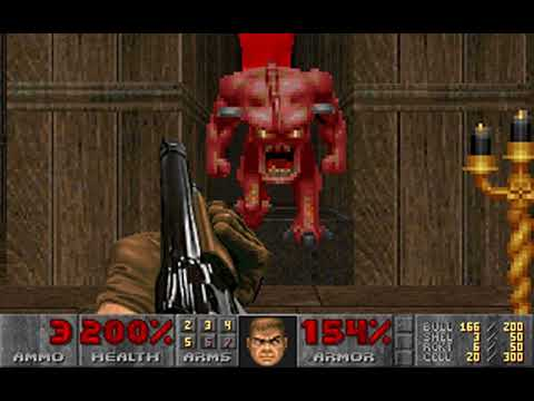 Doom (Episode 3: Inferno) (id Software) (MS-DOS) [1993] [PC Longplay]