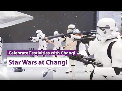 Star Wars lands at Changi Airport