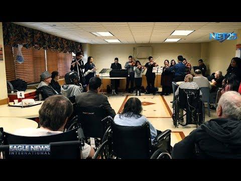 INC Oratorio Performers Spend Day Serenading Elderly in NY