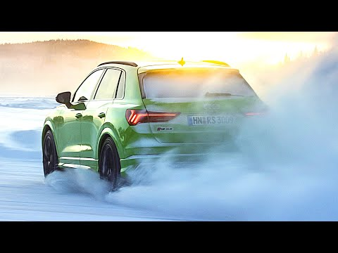 Audi RS Q3 (2020) Perfect SUV for Fast Driving on Ice and Snow