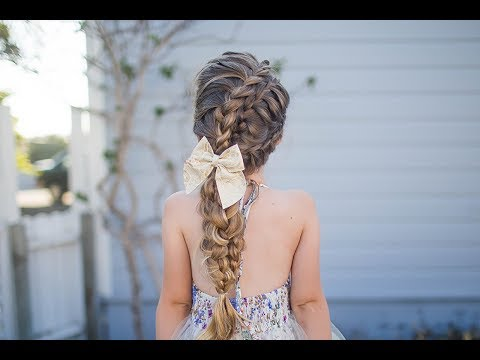 Double Lace Updo Homecoming Hairstyle Cute Girls Hairstyles