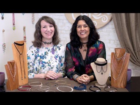 Artbeads Cafe - Trendy Chokers with Cynthia Kimura and Cheri Carlson