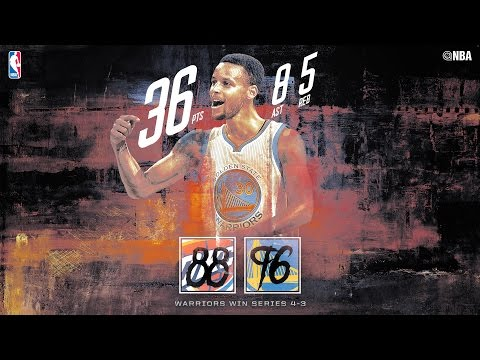 Stephen Curry Drops 36 Points as Warriors Complete Series Comeback vs Thunder