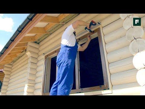Пластиковые окна в деревянном доме: особенности монтажа в обсаду // FORUMHOUSE