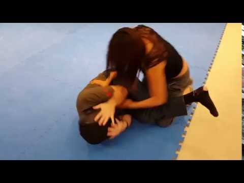 Self Defense When Arms Are Pinned