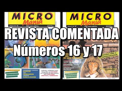 MICROMANIA PRIMERA EPOCA NUMEROS 16 Y 17