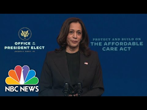 Harris Criticizes Supreme Court Case Against The Affordable Care Act | NBC News