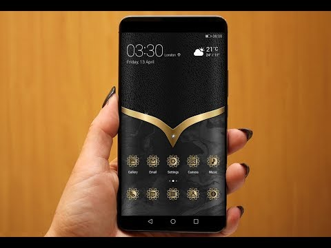 Apply Amazing Gold Themes for Huawei & Honor Phones