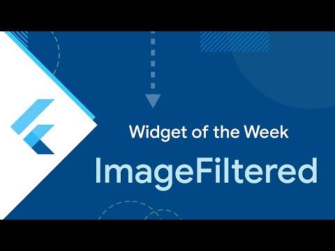 ImageFiltered (Flutter Widget of the Week)