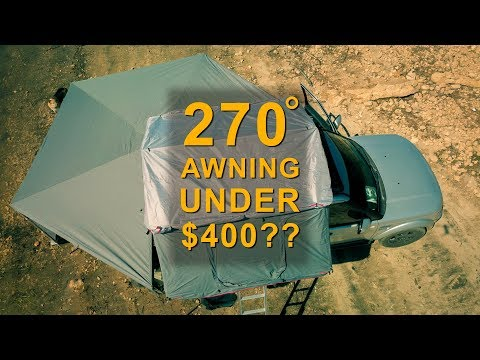 270 Degree Overland Awning Under $400!?