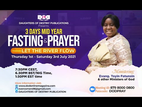 MID YEAR PRAYER AND FASTING DODP