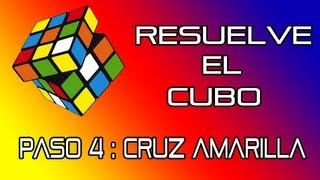 Resuelve El Cubo De Rubik Paso 4 Cruz Amarilla Youtube