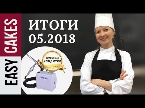 ИТОГИ Розыгрыша за Май 2018: Аэрограф и набор пищевых красителей.