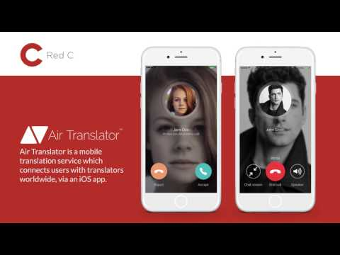 Air Translator - iOS app developed by Red C