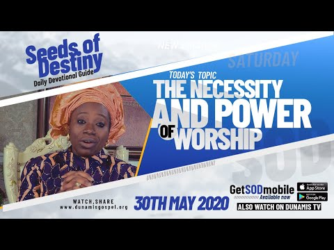 Dr Becky Paul-Enenche - SEEDS OF DESTINY - SATURDAY,  30TH MAY,  2020