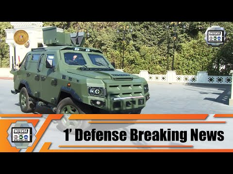 Temsah 4 New 4x4 light wheeled armored vehicles unveiled by Egyptian army 1' Defense Breaking News